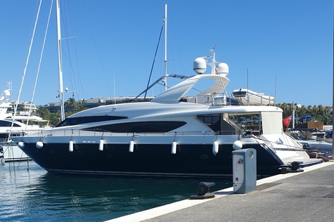 Motor yachts: super and megayachts Princess 95 BELKA