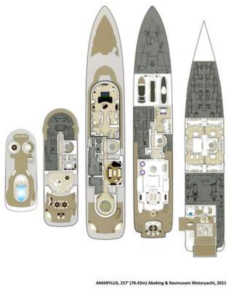 Abeking Amp Rasmussen Amaryllis Deckplans Arcon Yachts