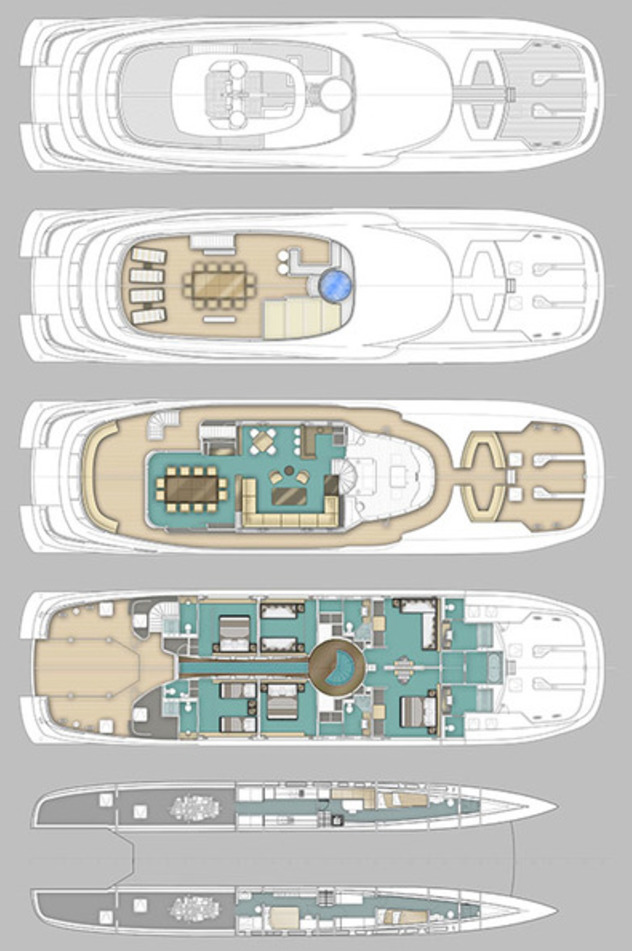 Curvelle Multi-Hull QUARANTA